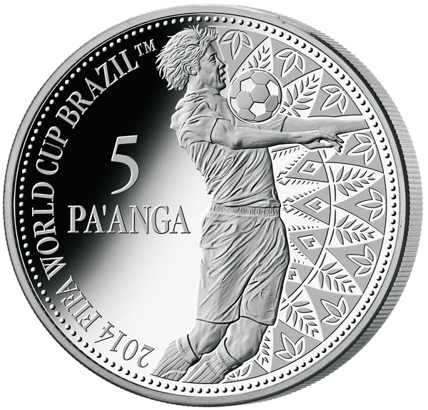 1  2014 fifa world cup silver reverse